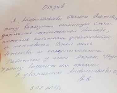 Афилофьева Оксана Ефтеевна. Договор 705Д
