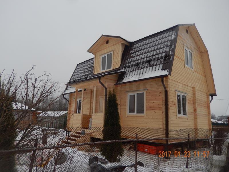 Дом из клееного бруса 503