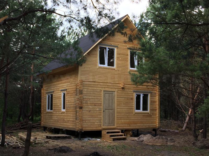 Дом из бруса 111
