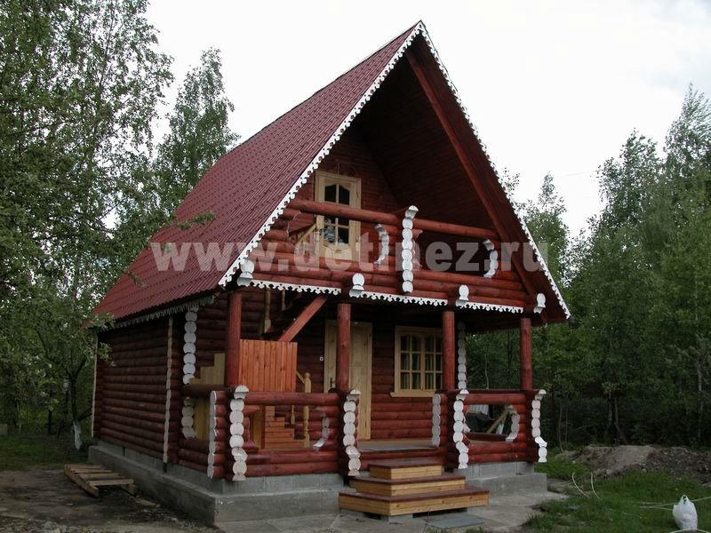 Дом из бревна 106