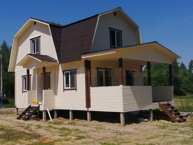 Дом из бруса 2254