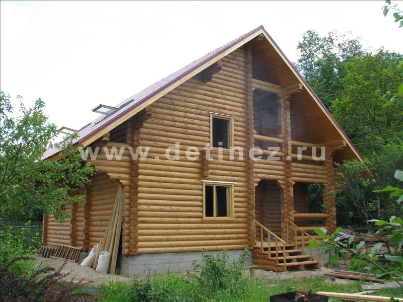 Дом из бревна 118 9х9м