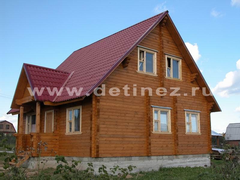 Дом из клееного бруса 144 8х8м