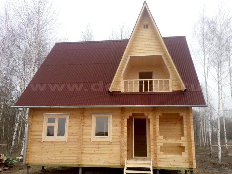 Дачный дом 2286Д из бруса