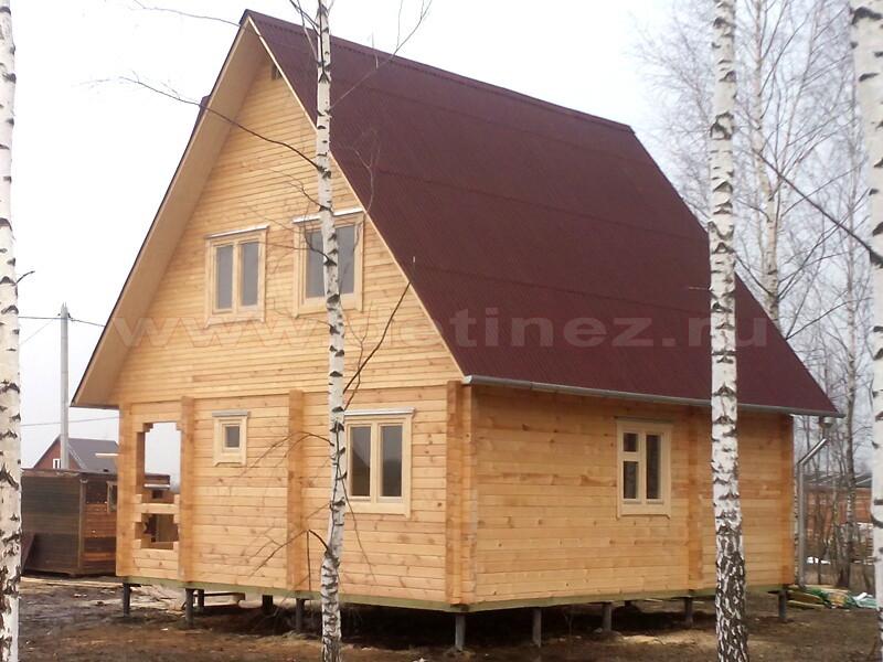 Дом из бруса 2166