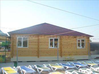 Одноэтажный дом из бруса 1034