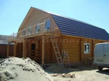 Дом 1121 из бревна