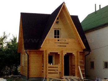 Дачный дом 1374 из бруса