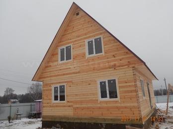 Дом из клееного бруса 1841