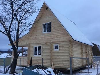 Дачный дом из бревна 1264