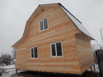 Каркасный дом 2086