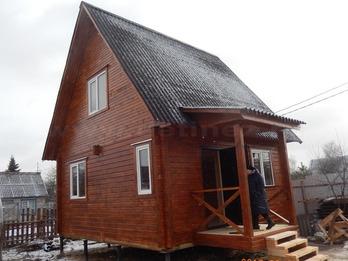 Дом из профилированного бруса 121 5х6м