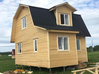 Каркасный дом 2107