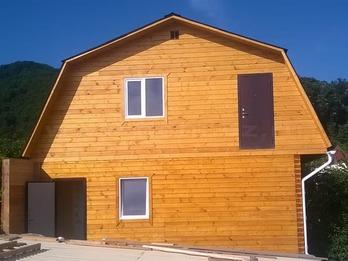 Дом 1338 из клееного бруса