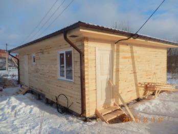 Дом из бруса 2108