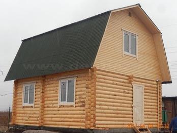 Дом из бревна 2088
