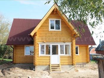 Дачный дом 377 из бревна