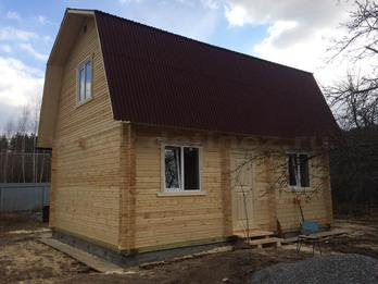 Дом из бруса 1771