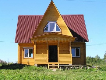 Дом из бруса 56