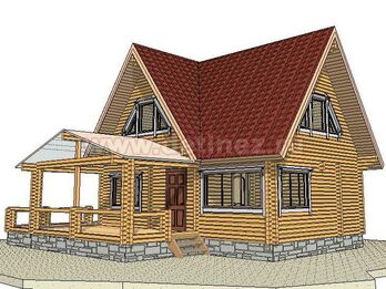 Дом из бруса 2024