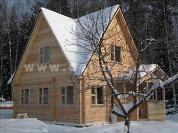 Дом 168 из бруса