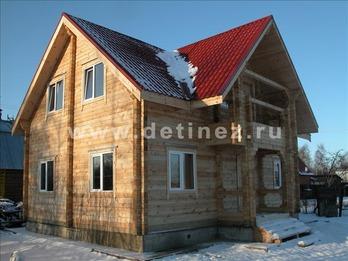 Дом 1088 из бруса
