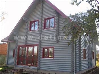 Дом 210 из бревна