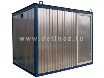 Металлический блок контейнер 2,5х2,5м