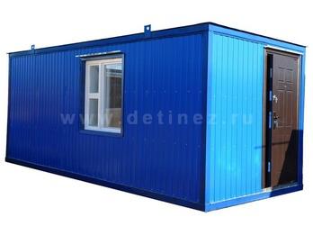 Блок-контейнер 6х2,5м с полимерным покрытием
