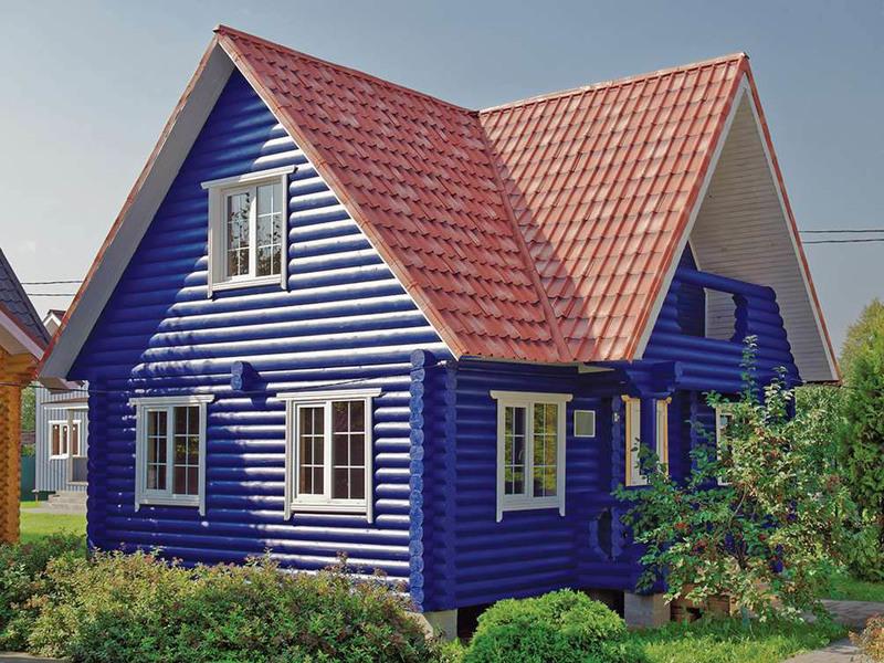Бревенчатый дом 108 6х9м