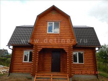 Дачный дом из бревна 1213