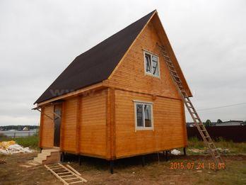 Дачный дом из бруса 1447