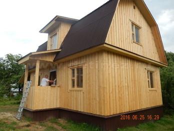 Каркасный дом 2056