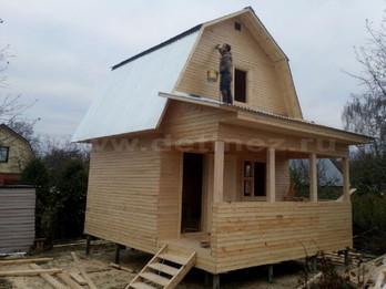 Каркасный дом 2096