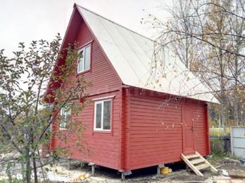 Дом из бруса 2101