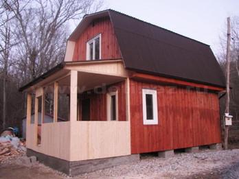 Каркасный дом 2105