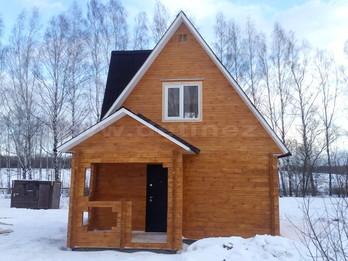 Дачный дом из бруса 1272