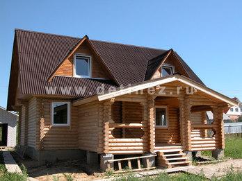 Дом 420 из бревна