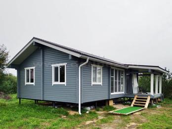 Дом из бруса 2249