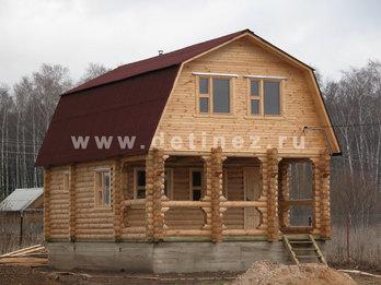 Дом 411 из бревна
