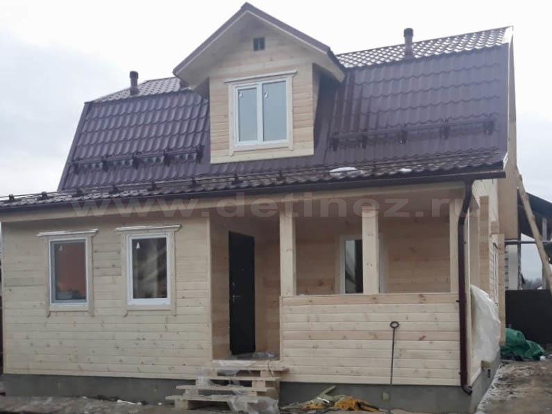 Дом из бруса 2246