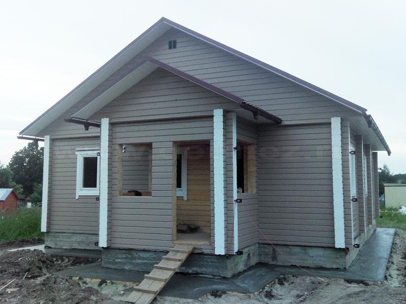 Дом 108 из бруса