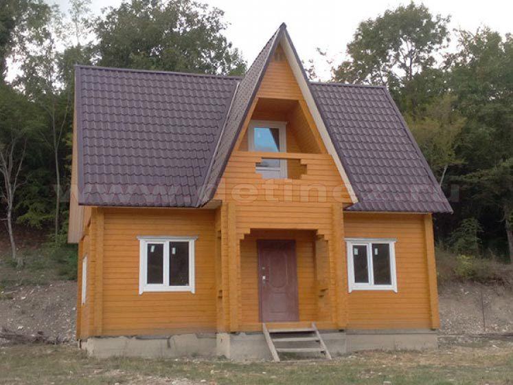 Дом 1111 6х9м 90м²