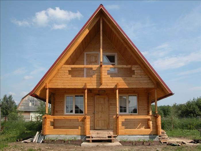Дачный дом 105 из бруса