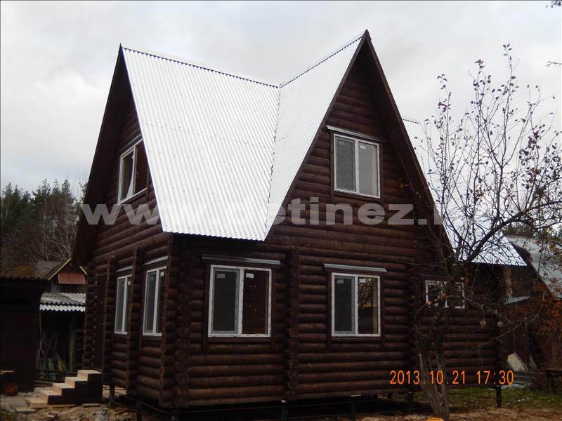 Дачный дом 1299 из бревна