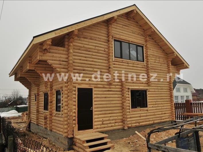 Дом 1060 из бревна