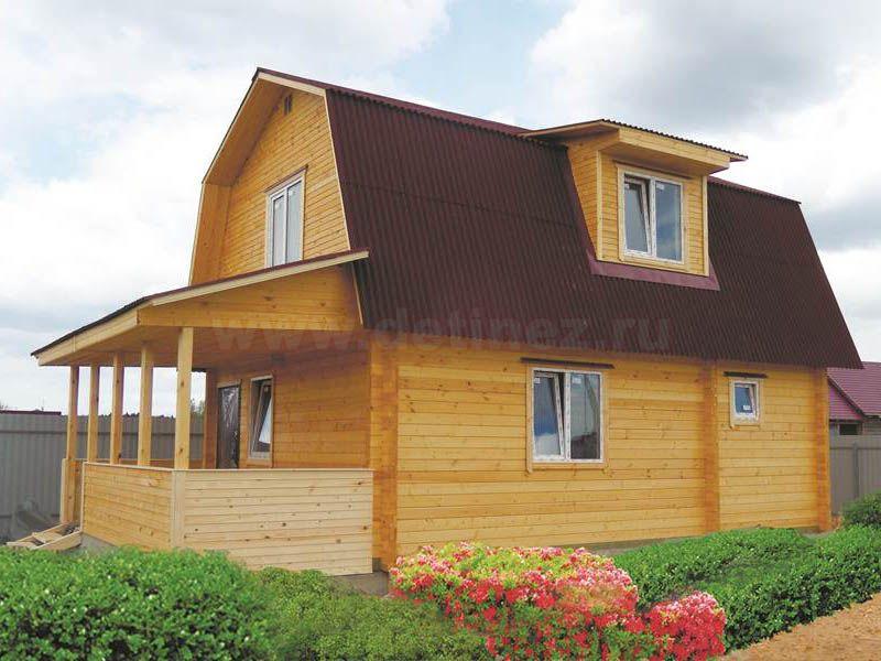 Дом из бруса 1464