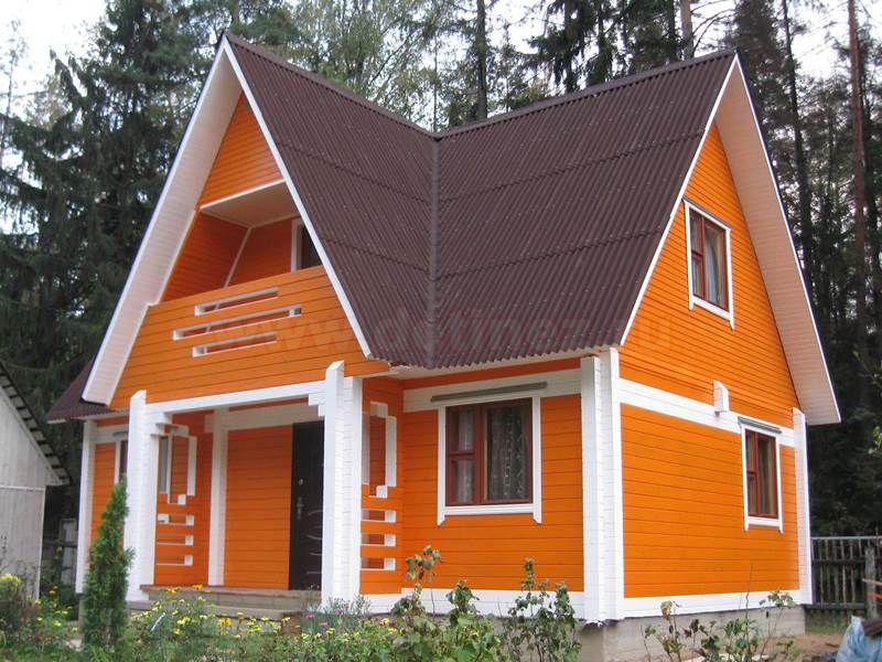 Дом из бруса 1900