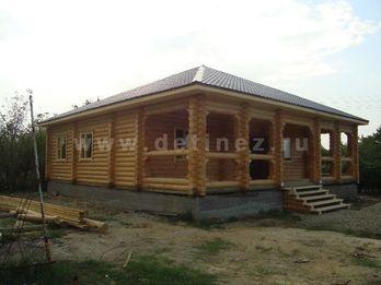 Фото 1285 - дом из бревна 10х8
