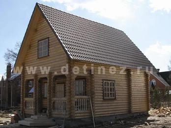 Фото 23 - дом из бревна 6х9